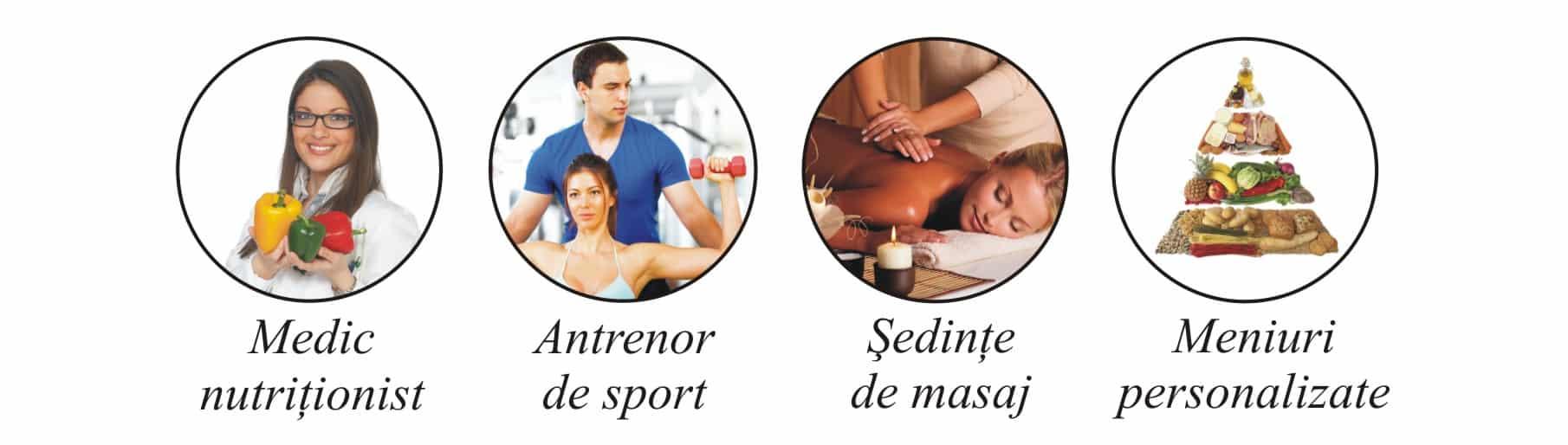 Nutritionist, antrenor de sport, sedinte de masaj si meniuri personalizate la clinica de nutritie Dietalia