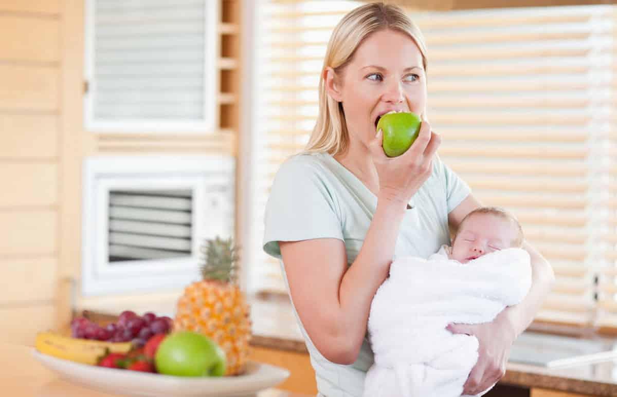 Nutritia mamei in perioada alaptarii